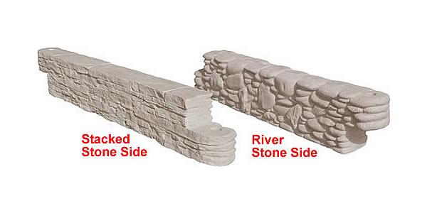 Rock-Themed Plastic Borders